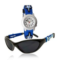 #JacquesFarelKids Jacques Farel Kids Watches - Watch & Sunglass Set - Boys' Air force Watch and Sunglasses set. This set contain...