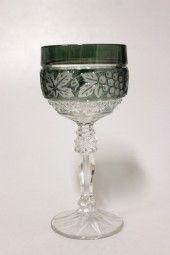 Römerglas Annahütte Grün