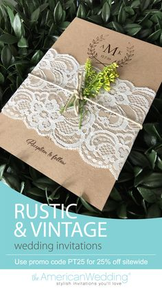 Wedding invitations are a great place to begin your wedding planning journey. Our wide selection of stylish, elegant invitations features a medley of different elements to appeal to you and your fiance. We know how quickly wedding expenses add up, so our mission is to provide quality wedding stationery at prices that won't break the bank.