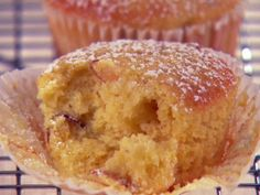 Get Giada De Laurentiis's Orange-Scented Almond and Olive Oil Muffins Recipe from Food Network