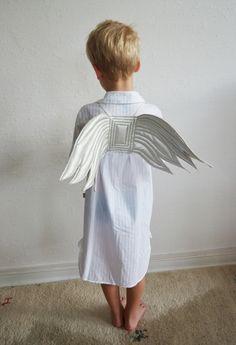 Kostüme für Kinder - Flügel, Engel, Engelsflügel, Engelchen, - ein Designerstück von maii-berlin bei DaWanda