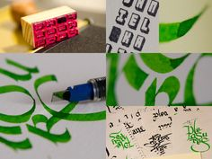 """...the pleasures..."" #caligrafia #calligraphy #quotes #umbertoeco #makingof"