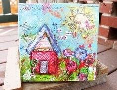 Check out Christy Tomlinson's new mixed media line in the how-to video on ScarletLime.com