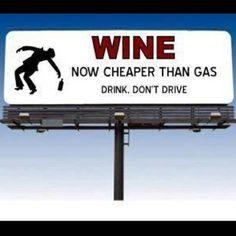 Drink. Don't Drive! true @Regina Saiz