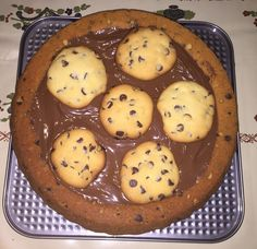 Grazie Gnam Gnam per questa golosissima ricetta  Crostata Cookie  http://www.gnamgnam.it/2016/04/30/crostata-cookie.htm #gnamgnam #crostatacookie #ricette #cucina #crostata #cookie #kitchen #dolce #dolcinodelladomenica #ildolcedelladomenica #food #foodporn #dessert