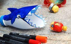 خلاقیت از جنس بطری پلاستیکی و نهنگ ماهی خور #نهنگ #خلاقیت #بطری #خلاقانه #کودک_خلاق