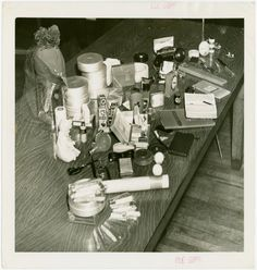 Contents of the 1939 time capsule. Courtesy of the New York Public Library.