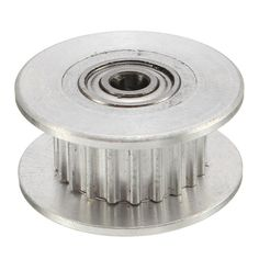 [US$4.29] 3PCS 16T GT2 3mm Aluminum Timing Drive Pulley With 20Teeth For 3D Printer #3pcs #aluminum #timing #drive #pulley #20teeth #printer