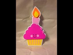 Cupcake Card Using Write + Cut on Cricut Explore - YouTube