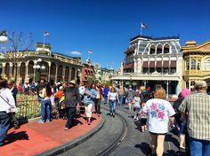Main Street is looking great today! @WDWToday #wdw #waltdisneyworld #instadisney #disneygram #MagicKingdom #mainstreet