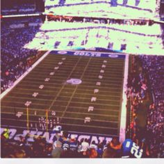 Colts game baby <3