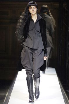 never over it Yohji Yamamoto Spring 2007 Ready-to-Wear - Collection - Gallery - Look 13