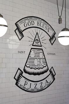 Margherita #logo #pizza #subwaytiles