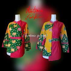 Blouse Batik, Batik Dress, Fashion Dresses, Women's Fashion, Short Shirts, African Print Fashion, Kebaya, Mary, Blouses