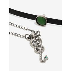 Harry Potter Death Eater Choker And Necklace Set ($23) ❤ liked on Polyvore featuring jewelry, necklaces, choker jewellery, tattoo necklace, choker necklaces, charm choker and charm jewelry