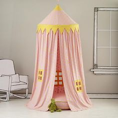 Ceiling hung play tent.....