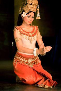 Khmer classical dancer, Cambodia