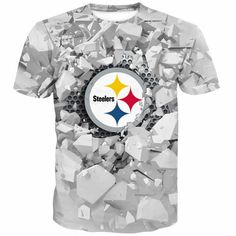 Men s T-shirt 3D Printed Logo NFL Football Team - Pick Your Team e6a3b37e4