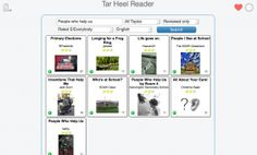 Great blog on how to download Tar Heel Reader books into iBooks with speech
