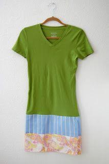 : Quick T-shirt Nightgown Tutorial