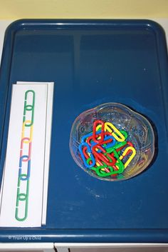 Math links and pattern cards