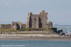 Piel Castle, Piel Island, Barrow in Furness, Cumbria