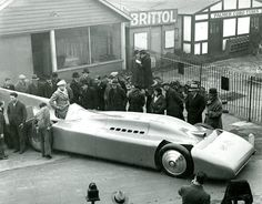 1935 Blue Bird V Will Be At The Goodwood Festival Of Speed