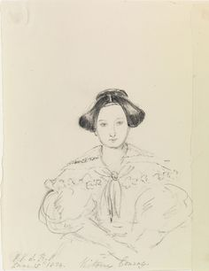 Victoire Conroy dated June 15 1834 by Queen Victoria, Queen of the United Kingdom (1819-1901)