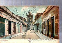 TARJETA POSTAL CAMAGUEY, CALLE MACEO (Postales - Postales Extranjero - América - Cuba)