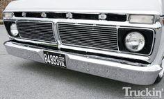 1974 Ford F100 Ranger front Bumper