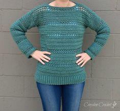 Stone Harbor Crochet Tunic - A free crochet pattern by Croyden Crochet