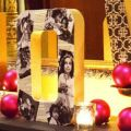 Going to do this once we pic a name! DIY Photo Letters: Spell Out Your Cheer
