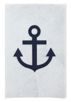 With this fun little iron-on, #nautical is just a step away!
