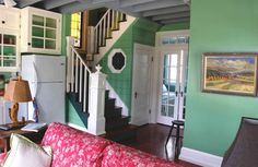 """This traditional """"Katrina Cottage"""" design has 3 bedrooms in 1,200 sq ft."""