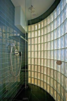 Love glass block showers