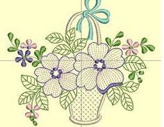 Resultado de imagen para flores para bordar a mano