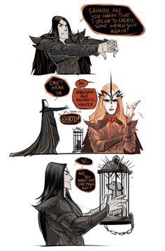 Melkor Was Here