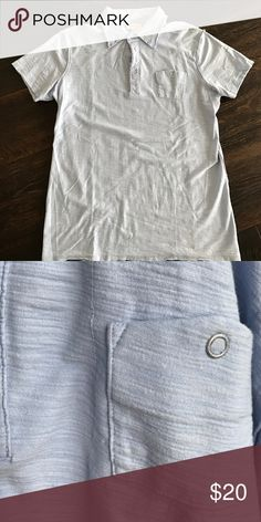 Diesel Light Blue Collared Shirt Diesel Polo. Gently worn - no signs of wear. Diesel Shirts Polos