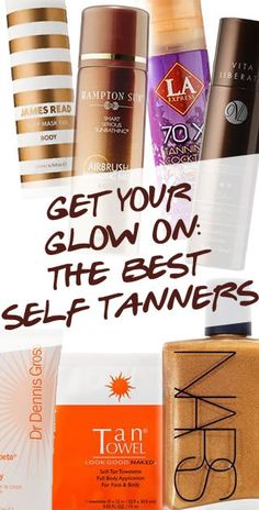 THE BEST SELF TANNERS - #Pampadour
