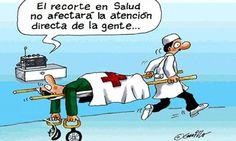 Los recortes en salud no afectan directamente a los paciente... O sí? ;)))