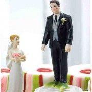 Figurine le marié aux pieds de crapaud