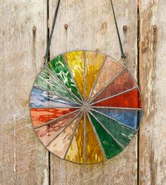 Water Stained Glass Color Wheel by The Wilderness Workshop on Scoutmob