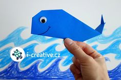 Velryba z papíru - origami návod pro malé děti Origami, Crafts For Kids, Youtube, Whales, Manualidades, Crafts For Toddlers, Kids Arts And Crafts, Origami Paper, Youtubers