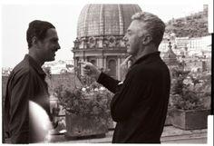 Nino Manfredi e Dino Risi
