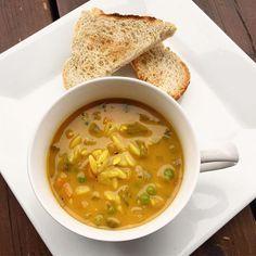 Soupe réconfort à l'orzo | Dodo la Grano | Cuisine et recettes végétaliennes & végétariennes