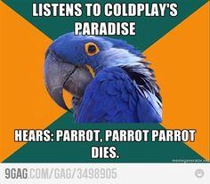 Coldplay - Paradise Lyrics :)