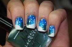 Kelsie's Nail Files...Winter Wonderland