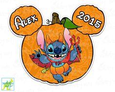 Stitch Disney Halloween Printable Iron On Transfer or Use as Clip Art, DIY Disney Shirt, Lilo & Stitch, Halloween Shirt, Vampire, Matching by TheWallabyWay on Etsy