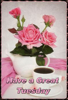 Good Morning Tuesday, Good Morning Gif, Speedy Recovery Quotes, Tuesday Greetings, Days Of Week, Blessed, Mornings, Blessings, Gifs