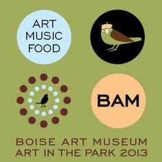 Pottery artist 2015 Boise Art Museum - Art in the Park